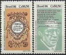 Timbres Brésil 1808/9 ** lot 13400