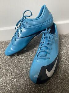 NIKE Mercurial Veloci V 354519-404 Football Boots shoes Size UK 9 Rare Vintage
