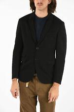 NEIL BARRETT men Suit Jackets Sz 48 IT Black Single Breasted Blazer Slim Fit ...
