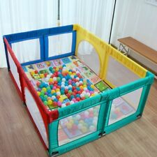 Baby Playpen Fence Foldable Pipe Toddler Indoor Safe Play Pool Child Protection