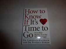 NEW - How to Know If It's Time to Go: A 10-Step Reality Test for Your Marriage88