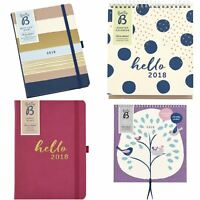 Busy B 2018 Cute Stylish Office Floral Birds Calendars and Diaries