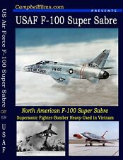 Air Force F-100 THUNDERBIRDs Super Sabre Films + Viet Nam Free Shipping in USA