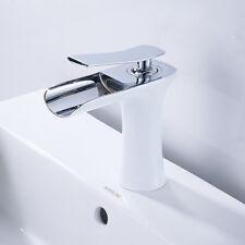 Miscelatore LAVABO moderno rubinetto singola maniglia bagno cascata Bagno lavandino Rubinetti per guardaroba
