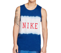Nike Tank Top Mens Authentic Sportswear American USA Statement Blue Small to 2XL