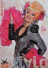 OLIVIA JONES - A2 Poster (XL - 42 x 55 cm) - Dragqueen Clippings Fan Sammlung