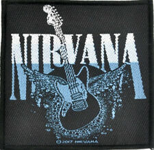 Nirvana - Guitar Patch 8.5cm x 10cm