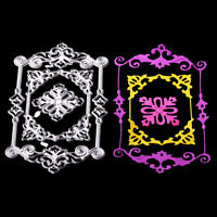 Square lace Cutting Die Scrapbooking Embossing Card Making Paper Craft sp