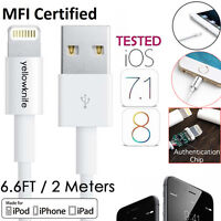 YELLOWKNIFE 2M 8-Pin Lightning USB Charge Sync Cable for iPhone 6PLUS/5S/5c/iPad