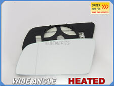 BMW SERIES 5 E60 2003-08 Wing Mirror Glass Wide Angle HEATED Left Side /B006