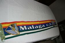 BUFANDA DE FUTBOL VINTAGE DEL MALAGA C.F COLORES DE ESPAÑA Y ANDALUCIA     SCARF