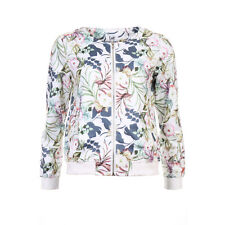 ISay Neel Bomber Jacket Floral Size L LF075 JJ 16