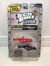 Rare Tech Deck BMX Dirt Finger Bike System Aluminum U1 Frame Pack CALIBER SMITH