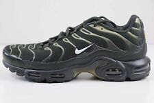 new style 759c5 56876 Nike Air Max Plus Secuoya Blanco Neutro Verde Oliva 852630 301 Size 8 Nuevo