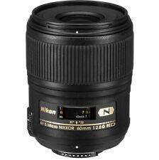 Nikon AF-S Micro-Nikkor 60mm f/2,8G ED mit Nanokristall-Vergütung  WIE NEU
