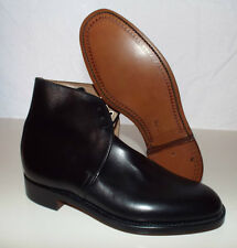 BLACK LEATHER GEORGE BOOTS - Size: 5 Medium , British Army Issue NEW NO BOX