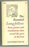 The Essential Longfellow selected by Lewis Leary (1963 Collier PBO, {AS586} VG+)