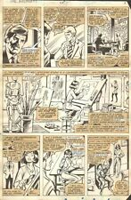 Avengers #214 p.5 Don Blake, Tony Stark, Hank Pym, & The Wasp - 1981 by Bob Hall Comic Art