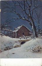 Postcard Switzerland Austria Mill Alps Ser.140 Artist Signed Splitgerber ca1910