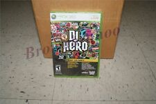 DJ Hero Start The Party Game Only Xbox 360 New Sealed