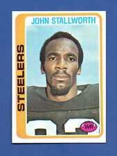 1978 Topps # 320 John Stallworth - ROOKIE - HOF - Pittsburgh Steelers - NM/MT