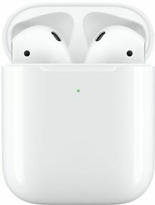 Apple AirPods 🍎 2nd Generation Bluetooth Earbuds & Charging Case 🎵 MV7N2AM/A