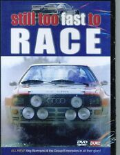 GROUP B RALLY LEGENDS 34X24 INCH CANVAS FORD AUDI LANCIA PEUGEOT METRO 6R4 TURBO