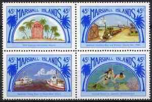 MARSHALL ISLANDS 1989 - BLOC LINKS WITH JAPAN MNH