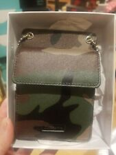 Supreme Leather ID Holder + Wallet Woodland Camo Camouflage New FAST shipping