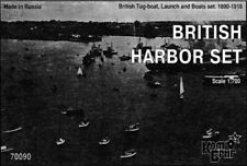 1/700 Combrig Models British Tug-boat + Launch + Boats set