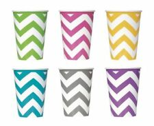 Paper All Occasions Party Tableware Chevron