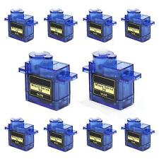 10pcs 9G SG90 Micro Servo High Speed for RC Robot Helicopter Airplane Car Boat