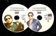 LENNY KRAVITZ In-Store Retrospective Music Video Promo Reel 2 DVD Set