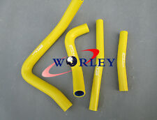 Silicone Radiator Hose for Suzuki RM250 RM 250 1996 1997 1998 1999 2000 YELLOW