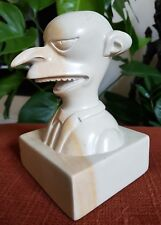 Mr Burns Simpsons Soapstone Bust - Made in Kenya Hand Carved