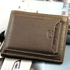 Fashion Men's Bifold Leather Wallet ID Credit Card Holder Billfold Purse Clutch