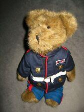 Boyds Bären USA Militär Bär - Vintage Brown American Kleid Blues Uniform Puppe