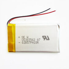 800mAh 3.7V Li po Li-Polymer ion Battery for mobile phone Camera GPS DVD 383562