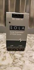 SOLA STV25K-10S Surge Supressor 120v single phase