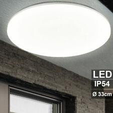 LED Außen Lampe Decken Leuchte Hof Grundstück Garten Veranda Beleuchtung rund