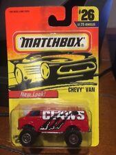 1997 Matchbox New Look Chevy Van #26