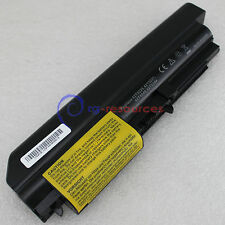 "Laptop Battery For Lenovo ThinkPad T61 (14.1"" widescreen) FRU 42T4677 6Cell"