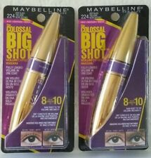 2 Maybelline Colossal Big Shot Mascara Very Black 224
