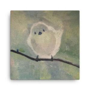 Little Bird Canvas Print of oil Painting