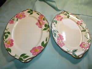 Franciscan Desert Rose Set of 2 serving platters