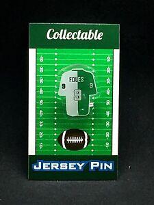 Philadelphia Eagles Nick Foles jersey lapel pin-Classic SB Champion Collectable