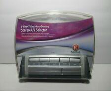 5-Way Tilting Auto Audio Video Selector Radio Shack 15-1985