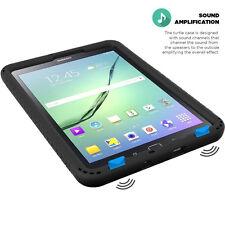 Turtle Skin Corner/Bumper Protection Case for Samsung Galaxy Tab S2 8.0 Black