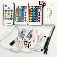 RGB RGBW WiFi Remote SP103E SP105E Controller For 5050 WS2811 WS2812B LED Strip