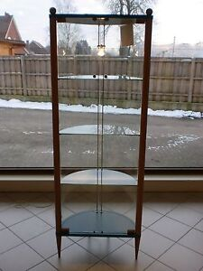 Glas-Vitrine  64 cm breit